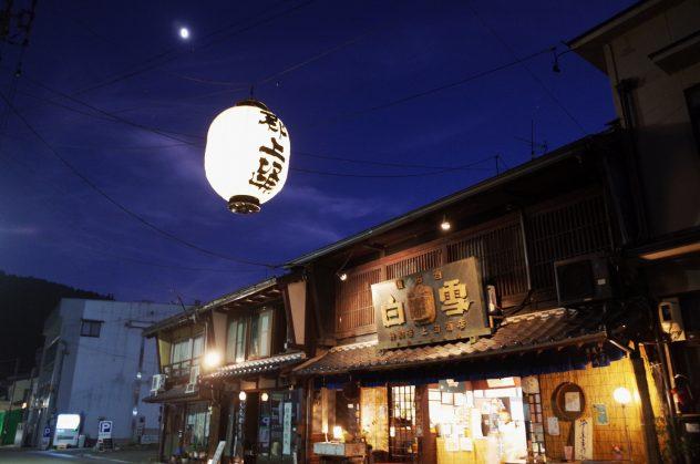 本町 大提灯 夜景