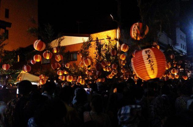 踊り納め提灯行列2015